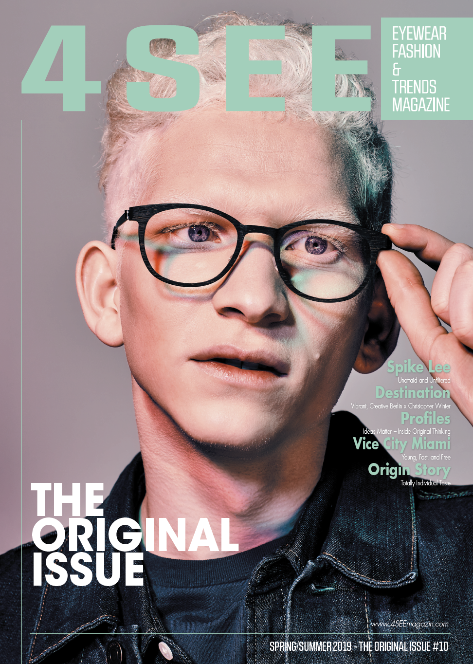 4SEE The original issue, Lindberg eyewear, 4SEE issue no. 10