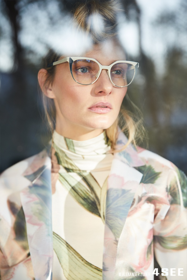 Glasses by BLACKFIN PLEASANT BAY Top and Jacket by Steinrohner