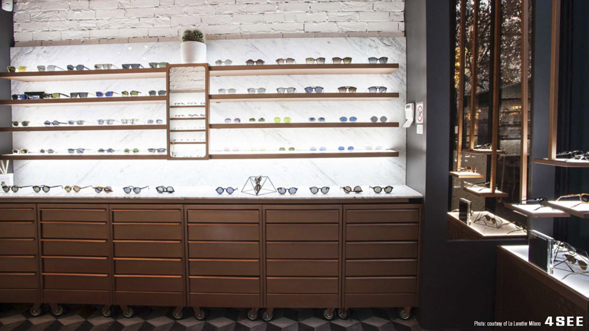 store Le Lunetier Milan Courtesy of Le Lunetier Milano